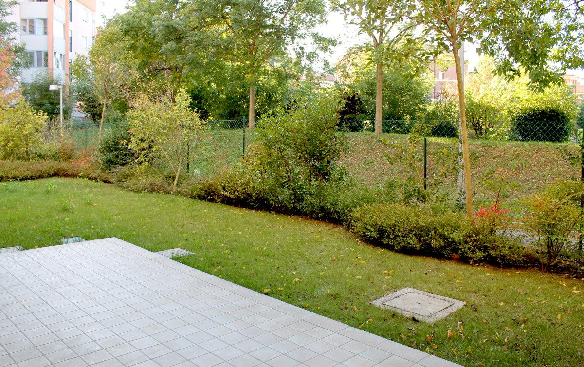 Bicamere con giardino privato
